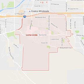 Loma Linda Maid Service - Maids2000 - California - House Cleaning - google map